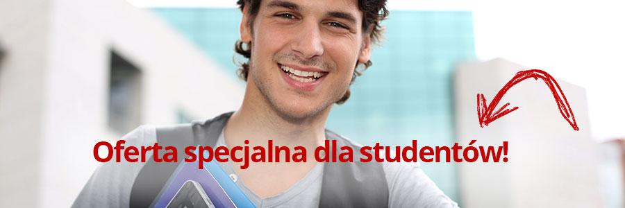 Oferta specjalna dla studentów